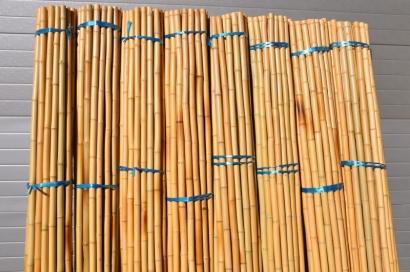 Bambusová tyč 3- 4 cm, délka 2 metry