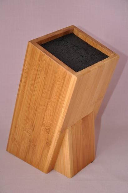 Blok na nože bambus