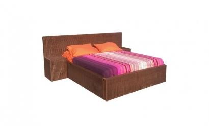 Ratanová postel Aurora