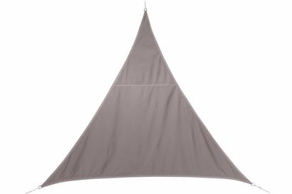 Stínící plachta trojúhelník 4m - capucino