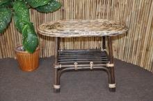 ratanový stolek Selangor oválný