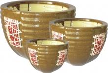 Keramický obal vzor 1890 - set 3 kusy