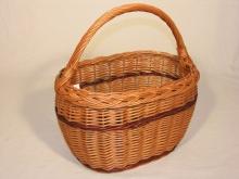 Košík vrbový nákupní