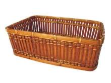Košík bambusový XL