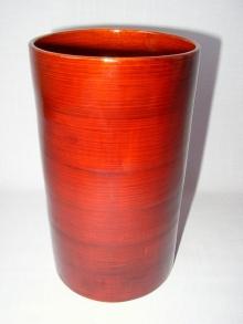 Bambusová váza válec
