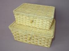 Set bambusových truhliček