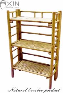 Bambusový regál 3 patra