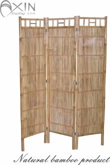 Bambusový paravan natural