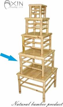 Bambusový stolek XL