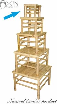 Bambusový stolek S