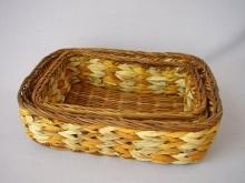 Košík vodní hyacint set 2 ks