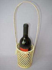 Bambusový košík na 1 láhev
