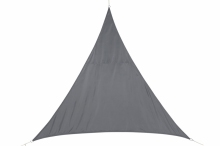 Stínící plachta trojúhelník 2m - šedá
