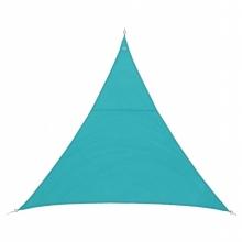 Stínící plachta trojúhelník 4m - tyrkys