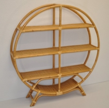 Ratanová knihovna kruhová